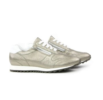Hassia Sneaker Metalcervo Khaki Weiss