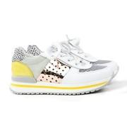 Develab Sneaker Combi Fantasy White Yellow