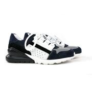 GIGA Sneaker Dark Blue Argento