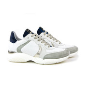 Via Vai Marina Swipe Sneaker Vitello Combi Blue