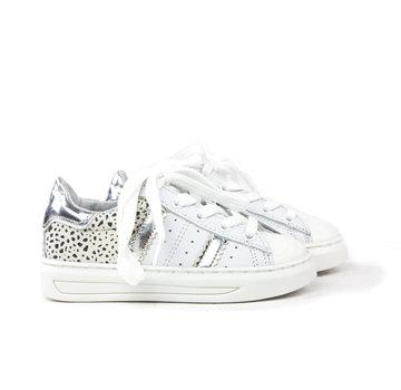 HIP Sneaker White Silver Black White