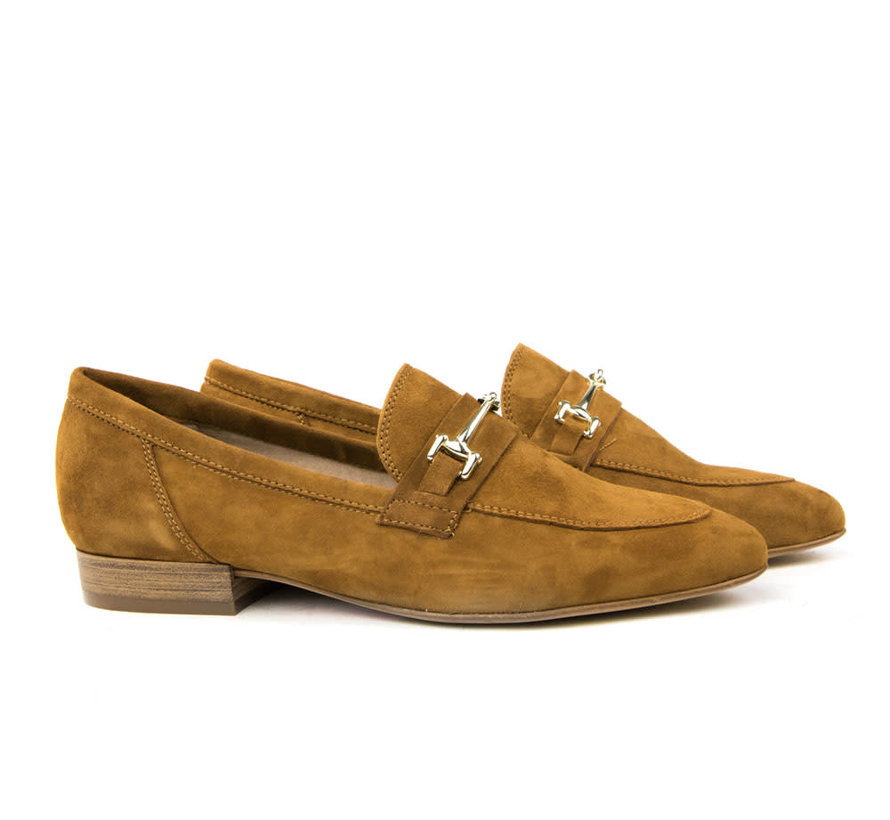 Loafer Suede Castano