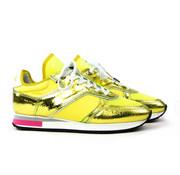Floris van Bommel Sneaker Metal Yellow