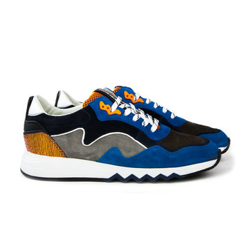Floris van Bommel Sneaker Suede Cobalt