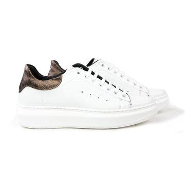 Passi Sneaker Mcqueen White Bronze