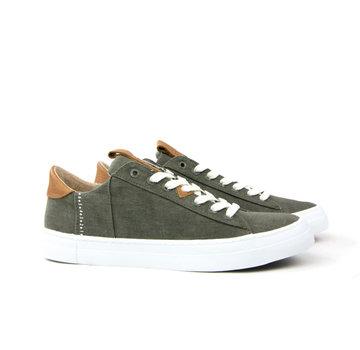 Hub Sneaker Hook Dark Olive White