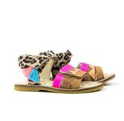 Shoesme Sandaal Leopardo Fuxia