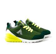 Red Rag Sneaker Fabrics Green
