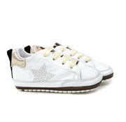 Shoesme Babyproof Veter Ster. Gold White