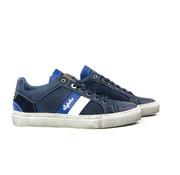 Australian Sneaker Darryl Leather Blue-Off White