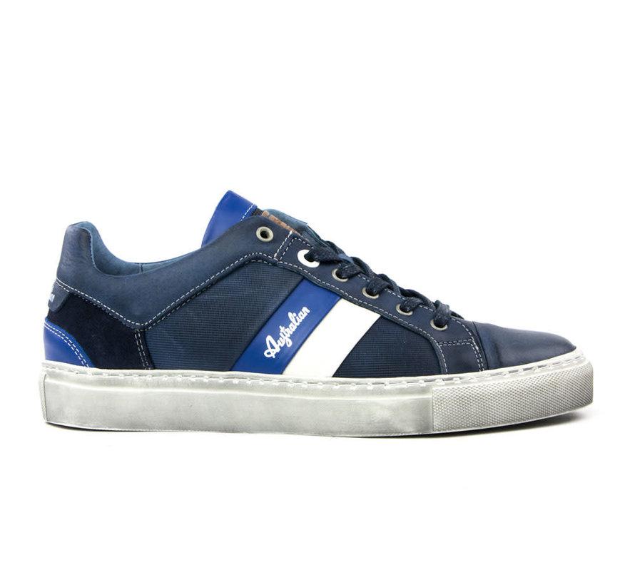 Sneaker Darryl Leather Blue-Off White