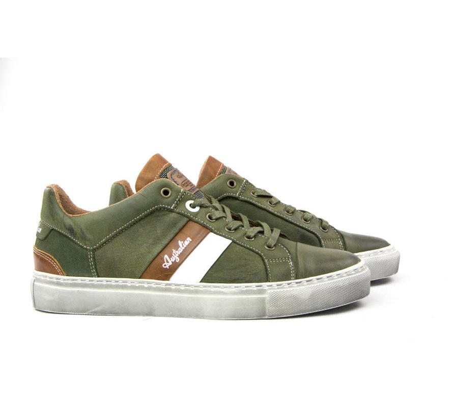 Sneaker Darryl Green White Tan