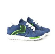 Shoesme Runflex Sneaker Blauw Groen
