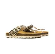 Develab Slipper Gold Fantasy Leopard