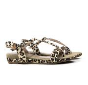 Pitt Sandaal Beige Leopard