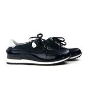Waldläufer Sneaker Hurly Deepblue Silver Blauw
