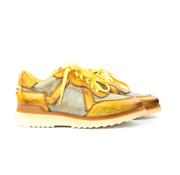 Greve Sneaker Running Mais Colino