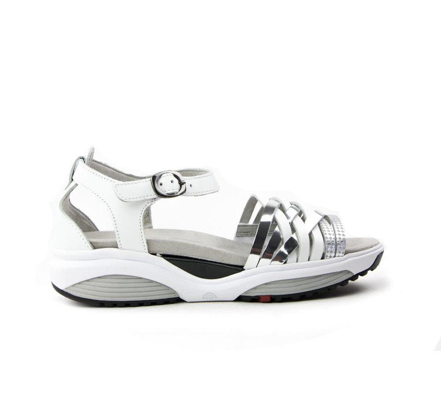 Stretchwalker Sandaal Kea White Silver
