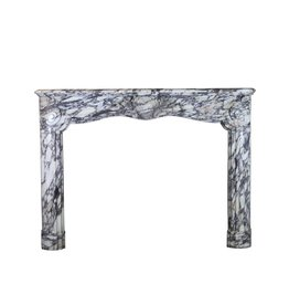 The Antique Fireplace Bank 19Th Century Fine French Fireplace In Violet Marble