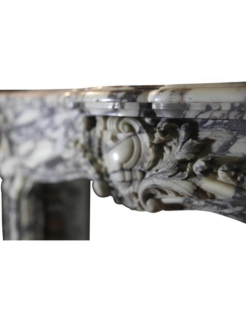 Fine French Regency Fireplace In Marble From The Regency Period