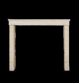 Rustikal Antike Reclaimed Französisch Bauernhaus Kalkstein Kamin