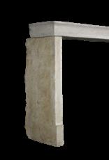 Gradlinigen Französisch Rustic Glänzend Kalkstein Kamin Verkleidung