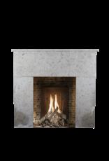 Maison Leon Van den Bogaert Antique Fireplaces & Vintage Architectural Elements Francés Siglo 20 Comblanchien Piedra Rústica Chimenea