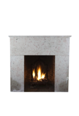The Antique Fireplace Bank French 20Th Century Comblanchien Stone Rustic Fireplace Surround