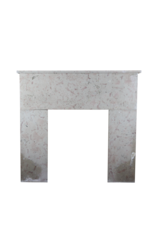 Francés Siglo 20 Comblanchien Piedra Rústica Chimenea