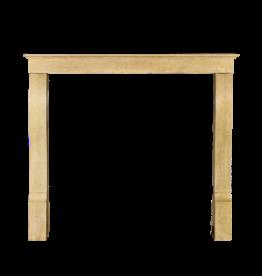 The Antique Fireplace Bank Französisch Origines Honig Farbe Fest Antike Kalkstein Kaminmaske