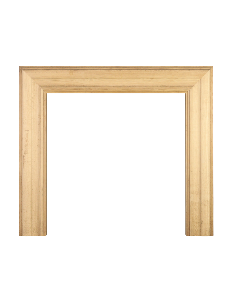 Square Bolection Frame In Wood