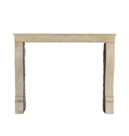 Origines French Limestone Antique Fireplace Surround