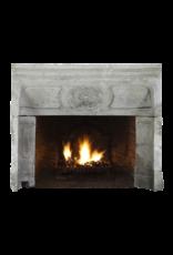 The Antique Fireplace Bank 18. Jahrhundert Periode Französisch Landstil Kalkstein Kamin Innen
