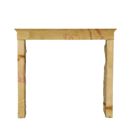 Veined French Origines Honey Color Antique Fireplace Surround