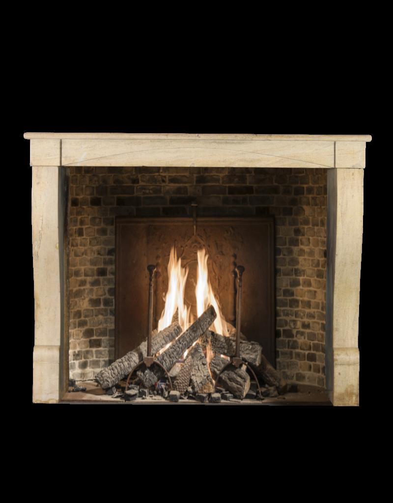 The Antique Fireplace Bank Feines Französisch Regentschaft Kamin In Hartem Kalkstein Für Moderne Einrichtungskonzepte