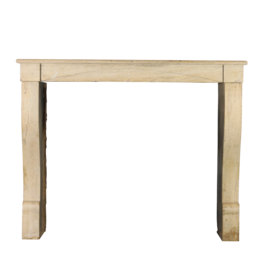 The Antique Fireplace Bank Small French 19Th Century Antique Limestone Fireplace Surround For Eclectic Interior Deco