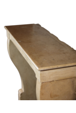 Fine French Regency Fireplace In Hard Limestone For Modern Interior Concepts
