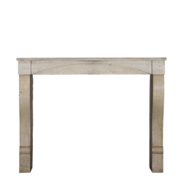 The Antique Fireplace Bank Small French 19Th Century Antique Limestone Fireplace Surround