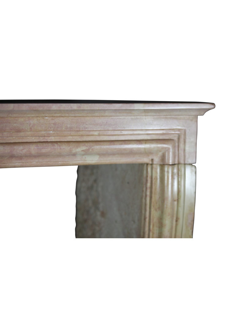 Elegant Rose Liseron Stone Surround For Timeless Chique Interior