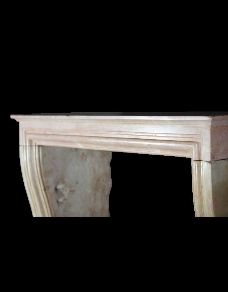 The Antique Fireplace Bank Rose Elegante Liseron Envolvente De Piedra Para Timeless Chique Interior