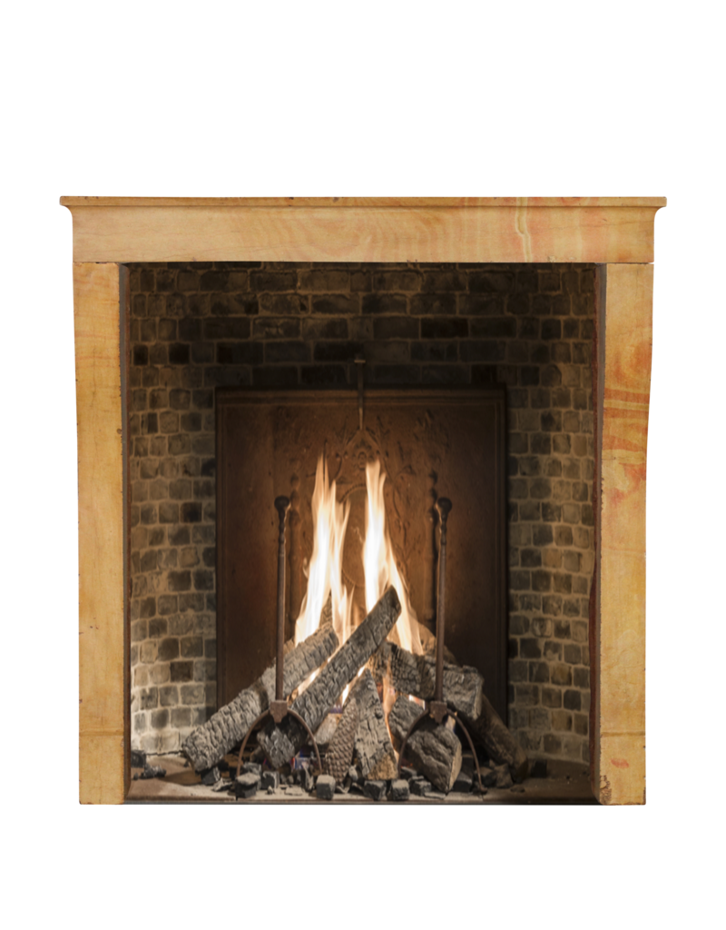 The Antique Fireplace Bank Small European Fireplace Surround In Limestone For Timeless Modern Interior Concept