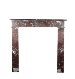 Small French Antique Marble Fireplace Surround