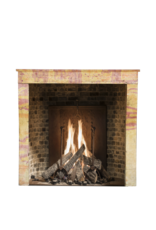 Small European Fireplace Surround In Stone