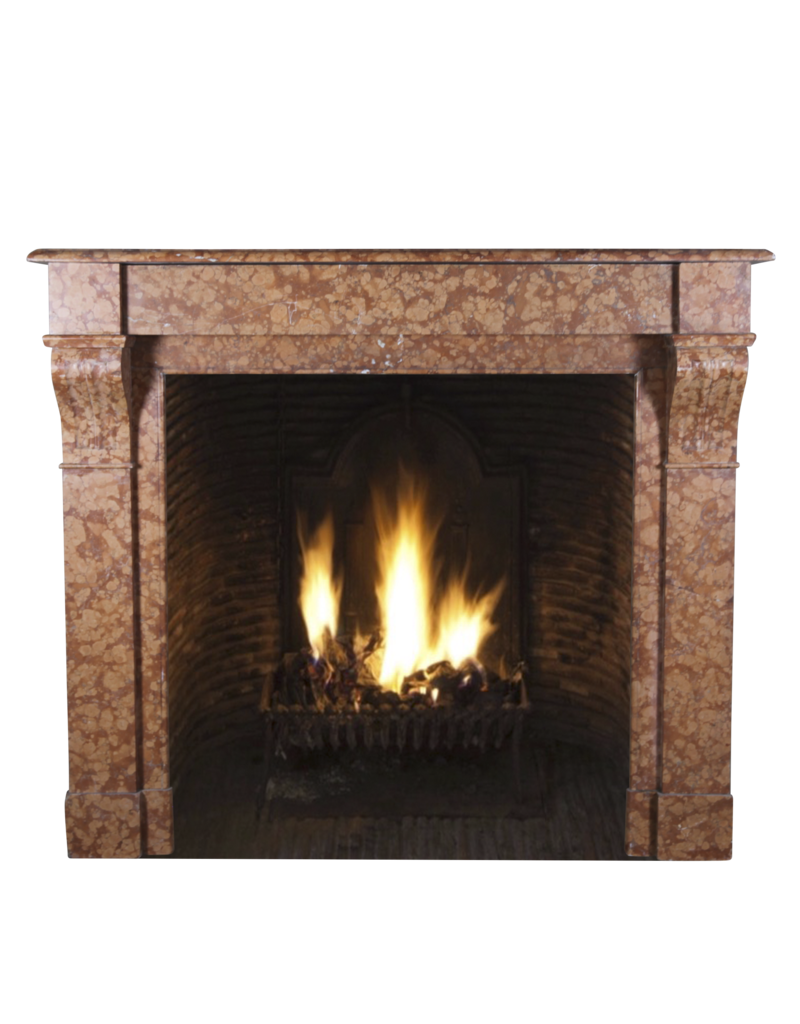 Fine French Classic Fireplace In Marble