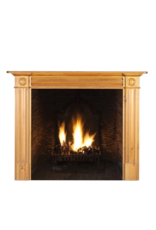 Classic British Fine Pine Fireplace Surround