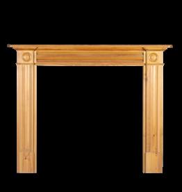 20Th Century London Pine Wood Kamin
