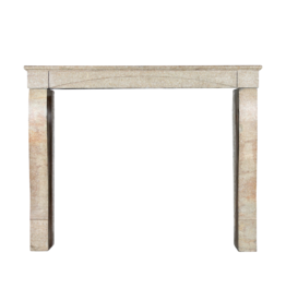 Small French Limestone Fireplace Surround