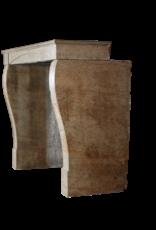 Kleine Antike Kamin Für Eklektisches Zeitlos Interieur