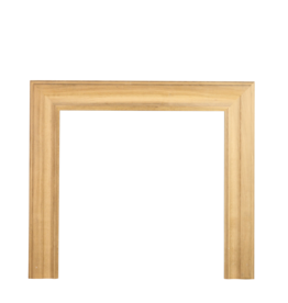 An Oak Bolection Fireplace Surround