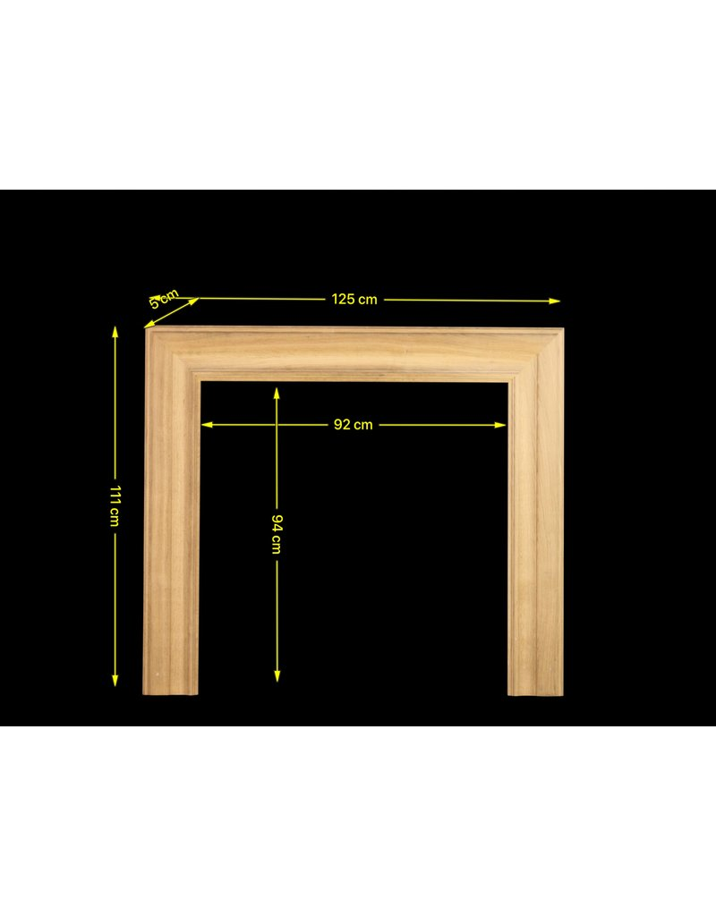 Oak Bolection For Square Firebox